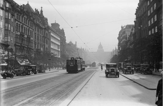 3.Václavské náměstí, kolem 1930