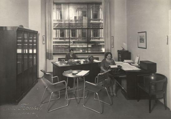 Sekretariat w 1934 roku