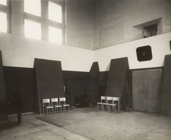 Studio nagrań nr 1, rok 1936