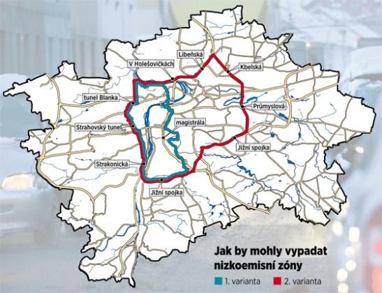 Granice stref. I foto: idnes.cz