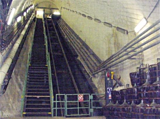 Wnętrze stacji w roku 2000