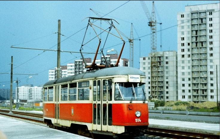 Ostrava Dubina 1985 rok.