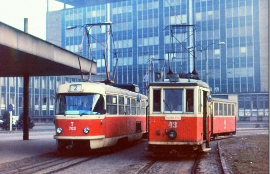 Hlavní Nádraží, Ostrawa 1985 rok.