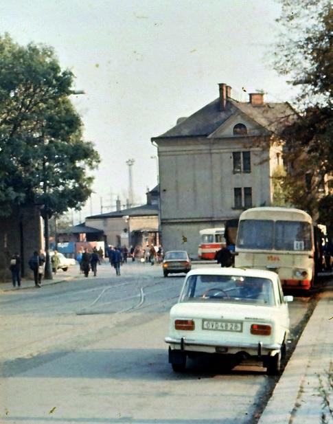 Nádraží Ostrava-Svinov 1985